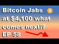 High Altitude Investing: Craving Crypto EP 58 'Bitcoin Jabs at $4,100 what comes next?!'
