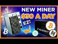 VoskCoin: NEW Crypto Mining Rig EARNS $30 A DAY?! + YOU CAN BUY ONE!!