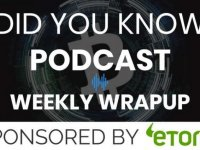Did You Know: Bitcoin Weekly Wrapup: September 20 2019