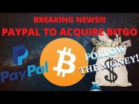 Altcoin Buzz: BREAKING!!! PayPal to Buy HUGE Crypto Company, Backed by Goldman Sachs | Bitcoin News