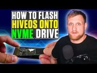 Son of a Tech: How To Install HiveOS on NVME Drive!