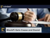 CoinDesk: BlockFi Receives Cease and Desist Order From New Jersey Acting Attorney General