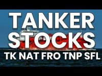 TheChartGuys: Tanker Stocks! - TK NAT FRO TNP SFL - Technical Analysis Chart 05/13/2020