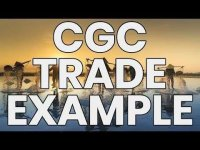 TheChartGuys: CGC Trade and Live Stream Example 4/23/2019 by ChartGuys.com