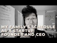 Decentralized TV: My FAMILY Schedule as a Startup Founder / CEO is SUPER SIMPLE! — DON'T MAKE THEM COMPLEX!