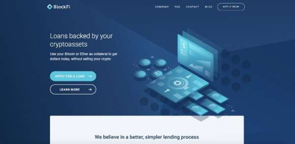 SiliconANGLE: Cryptocurrency lending firm BlockFi raises $30M to expand product offerings