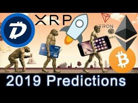 Cryptocurrency Youtuber: TOP 7 CryptoCurrency Year 2019 Future Predictions