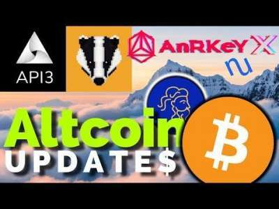 Altcoin Buzz: Major Altcoin Updates: API3, Badger DAO, NuChypher, AnRKeY X, Plutus PLU