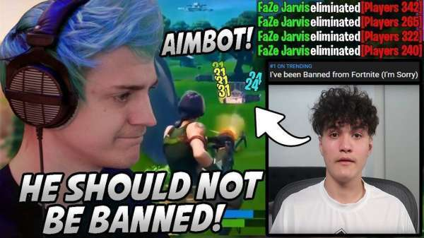 CCN: Ninja Regrets Naive Pre-Fire On Jarvis' Fortnite Aimbot Cheat Ban
