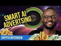 Crypto Coin News: Smart AI Advertising // Crest Token CEO Interview // CryptoCurrency ICO Review
