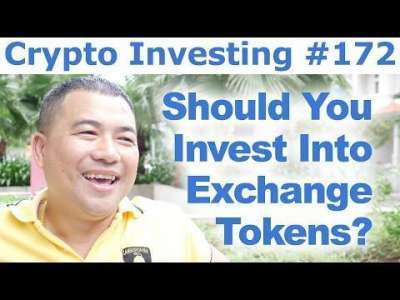 Cryptocurrency Market: Crypto Investing #172 - Should You Invest Into Exchange Tokens?