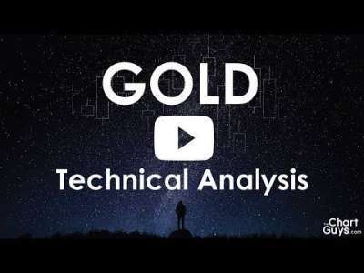 TheChartGuys: GOLD Technical Analysis Chart 06/19/2018 by ChartGuys.com