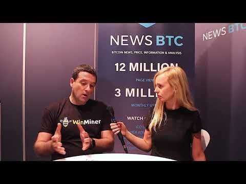 NEWSBTC: WinMiner Discusses Cryptocurrency Mining - 2018 Barcelona Crypto Economy  Exclusive Interviews