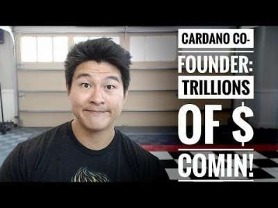 Decentralized TV: Cardano Co-Founder - Wall Street will Bring Tens of Trillions of Dollars into Crypto! - Charles NO!