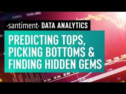 Nugget: Using Data Analytics To Predict Market Behaviour - Santiment April 2021