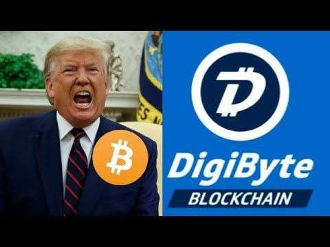 Cryptocurrency Youtuber: Digibyte Bullrun Bitcoin Is The Future of Money Trump Negative Interest Rates