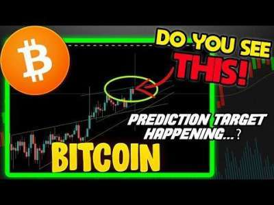 Crypto Capital Venture: Bitcoin is ONE MOVE AWAY from my PREDICTION target! If BTC BREAKS this area, WATCH OUT!