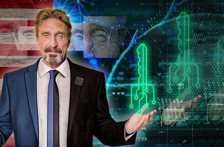 bitcoin.com: McAfee Envisions DEX in a World Where Crypto Won't Be Traded for Fiat