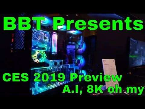 Bits Be Trippin: CES2019 BBT Recap Preview - AI - 8K - CoinAgenda and more