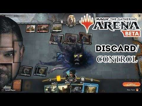 Crypto Crow: MTG Arena - Blue/Black Discard Control - Crypto Gaming Hangout ? Magic The Gathering Live Play