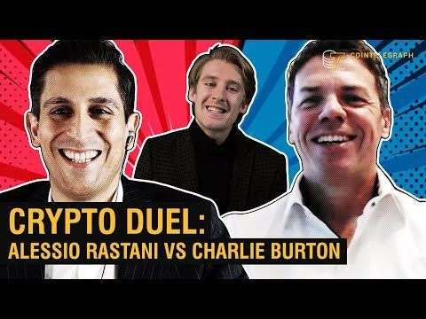 Cointelegraph: Bitcoin to $20K by Year End?  | Alessio Rastani Vs. Charlie Burton