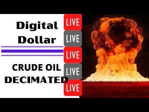 Crypto Tips: Digital Dollar Incoming? || Crude Oil Decimated