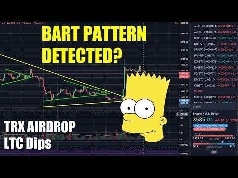 CryptosRUs: Bart Simpson Pattern Detected? - Tron Airdrop - LTC Dips [Bitcoin and Cryptocurrency News]
