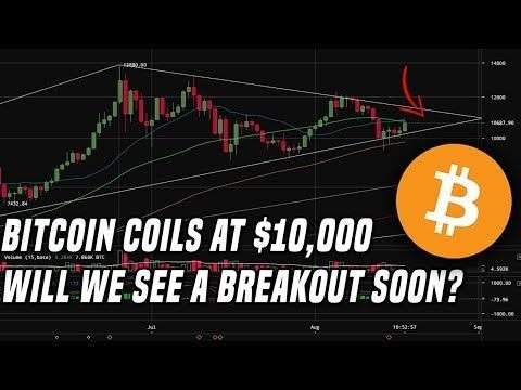 DataDash: Bitcoin Price Coils At $10K | Are We Setting Up For A Breakout?