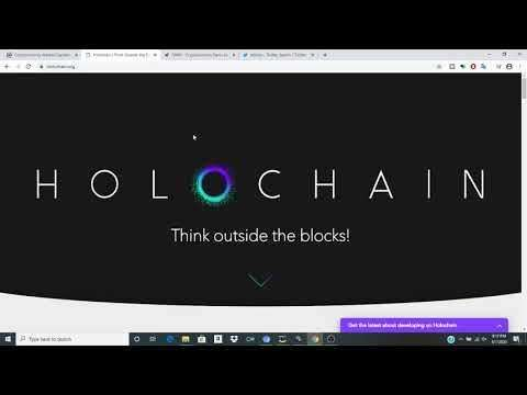Cryptocurrency Youtuber: Bullish Holochain Beyond Blockchain Look into the future of Bitcoin And Cryptocurrencies