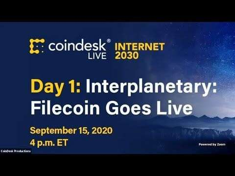 CoinDesk: Internet 2030: Filecoin Goes Live