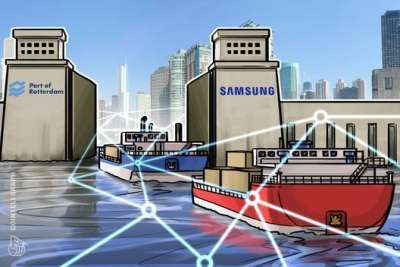 CoinTelegraph: Europe's Largest Port Partners with Samsung IT Subsidiary to Test Blockchain for Shipping