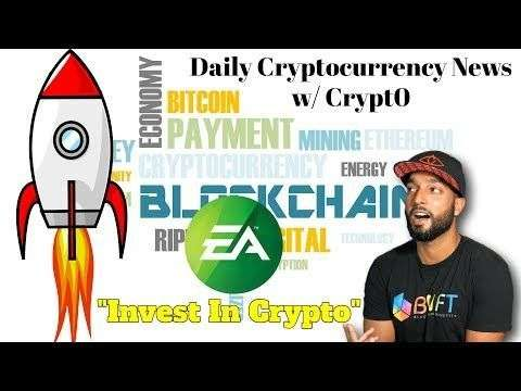 Crypt0: EA: Invest In Crypto | Bitforex BTC Giveaway | Coinbase Adding New Tokens | Much More Crypto News!