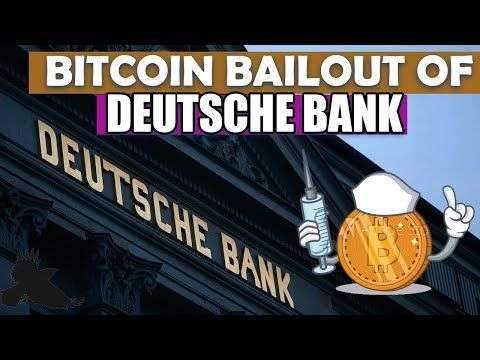 Crypto Crow: BITCOIN BAILOUT of DEUTSCHE BANK! Ethereum Reaching out For Help!