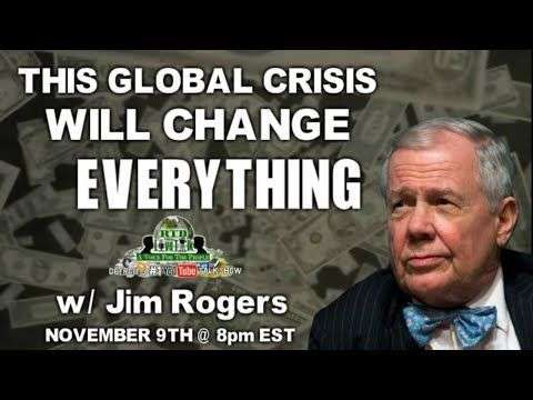 Rethinking The Dollar: RTD Live Talk ft. Jim Rogers 'This Global Crisis Will Change Everything'