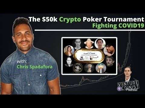 Venture Coinist: $50k Crypto Charity Poker Tournament, Hear from the Winner w/ Chris Spadafora