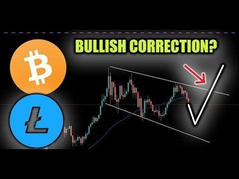 Crypto Capital Venture: Bitcoin & Litecoin Correction EXTREMELY Bullish