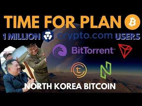 Altcoin Buzz: Plan ₿ with Crypto.Com! North Korea Bitcoin? BitTorrent Launch! Nuls 2.0, Tomochain - bitcoin news