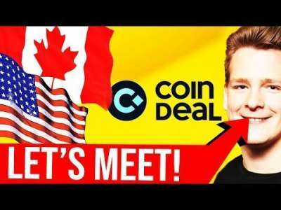Ivan on Tech: ? URGENT ANNOUNCEMENTS - Canada and US trip ? CoinDeal Big Offer