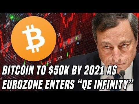 DataDash: Bitcoin to $50K in 2021 | European Central Bank Enters 'QE Infinity', Cuts rates
