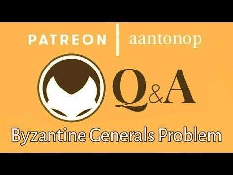 aantonop: Bitcoin Q&A: The 'Byzantine Generals Problem' thought experiment