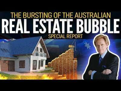 GoldSilver (w/ Mike Maloney): The Bursting of the Australian Real Estate Bubble - Special Report with Mike Maloney