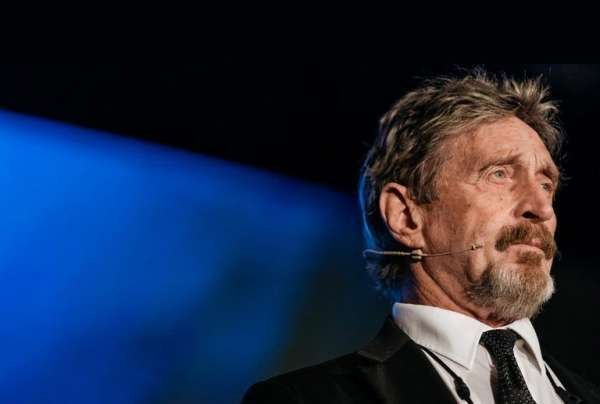 bitcoin.com: After Fleeing From the US Government John McAfee Warns His Enemies