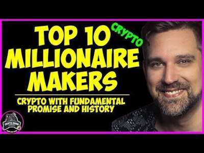 Crypto Crow: Top 10 Crypto Millionaire Makers!!  With Predictions :Part 1 ??