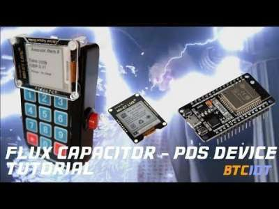 World Crypto Network: BTCIOT Tutorial - The Flux Capacitor, a cheap/low-powered POS