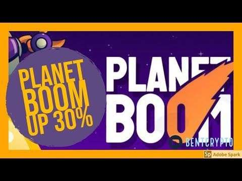 Majicman Crypto: Planet BOOM is Back! Up 30%!