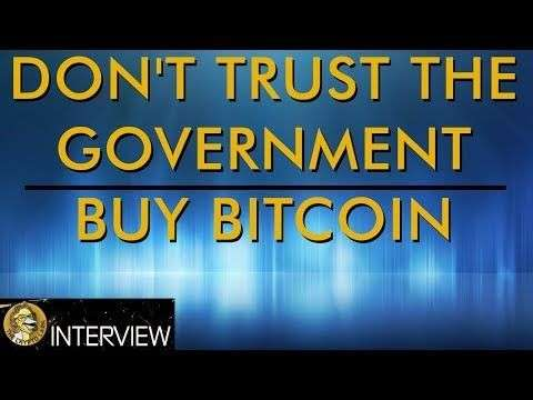 The Crypto Lark: Trust Bitcoin - Not Your Government