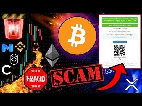 Crypto Zombie: BITCOIN & ALTCOINS DOWN! ⚠️ WARNING! DON'T Fall for this SCAM! 2022 $BTC ATH Realistic Prediction