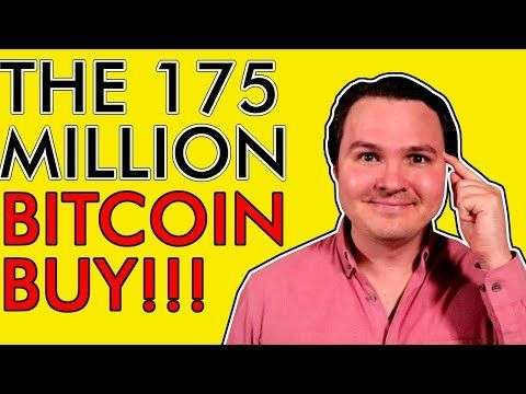 The Crypto Lark: WHO IS BUYING $175,000,000 OF BITCOIN TODAY? [Incredible Bullish News for Crypto]