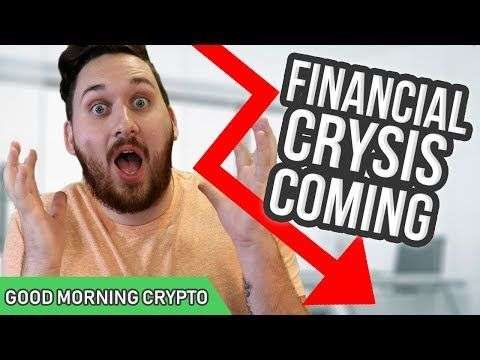 Crypto Coin News: Financial Crisis Coming // CryptoCurrency a Safe Investment // Crypto Market News