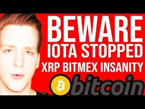 Ivan on Tech: IOTA SHUTS DOWN!! ? BITMEX XRP COLLAPSE - Programmer explains